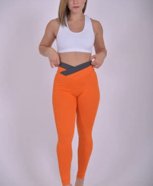 NC Vitta Vitamina Bicolor Waistband Leggings