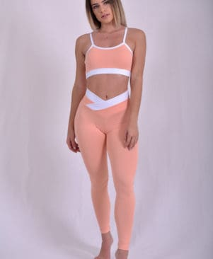 Shape Bicolor Leggings (Custom-Made)
