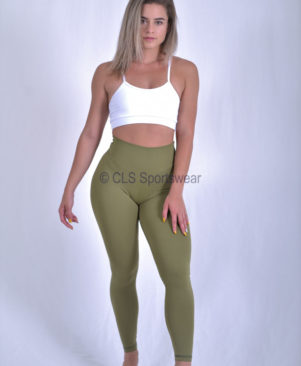 Shape Leggings Olive Drab (Custom-Made)