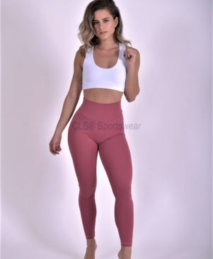 Shape Leggings Rose Wine (Custom-Made)