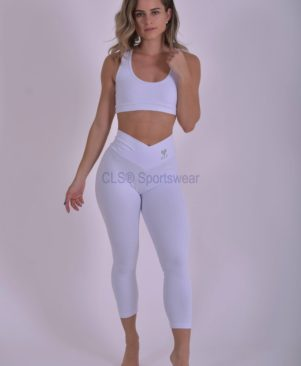 Confort Leggings Branco (Custom-Made)