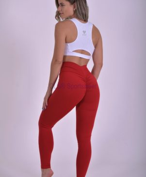 NC Compression Light Leggings Scarlet