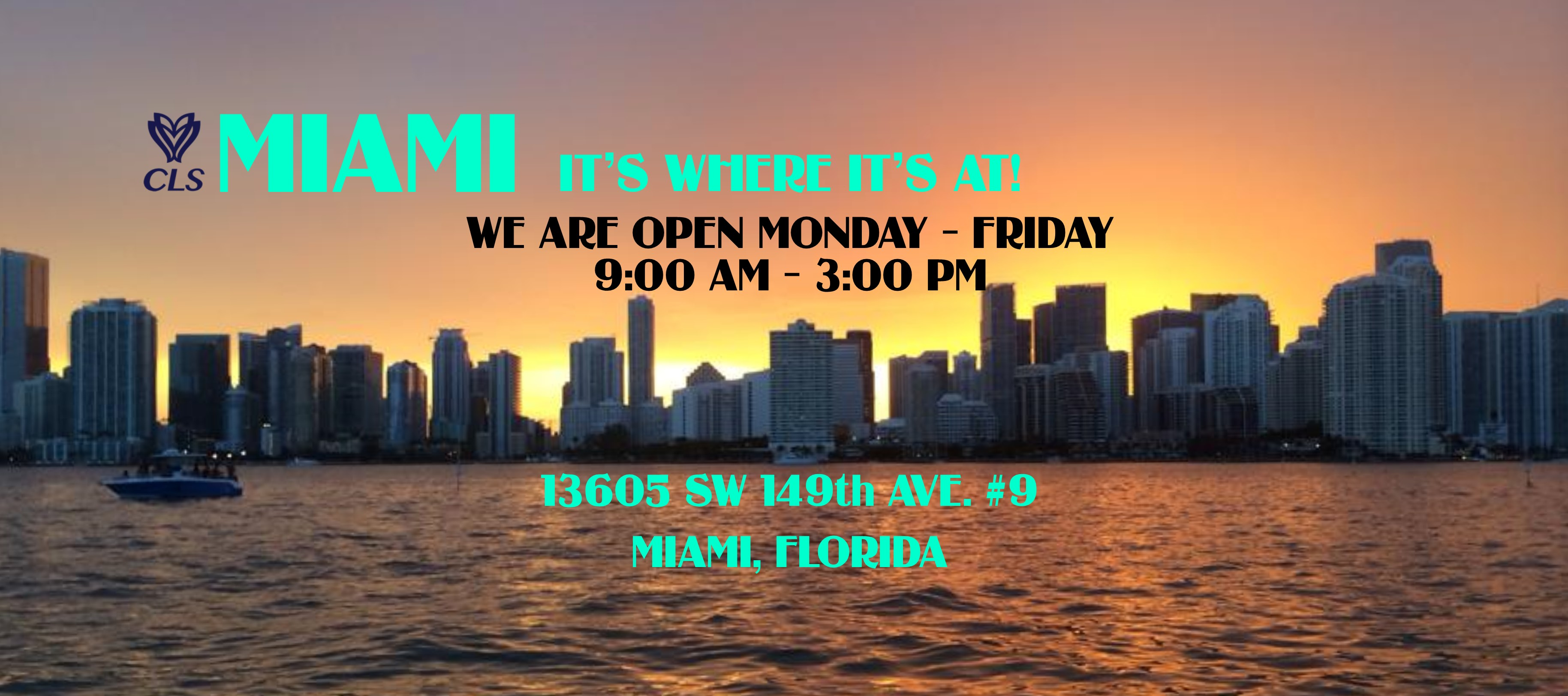 https://www.clssportswear.com/wp-content/uploads/2019/03/Miami_Skyline_CLS_Hours.jpg