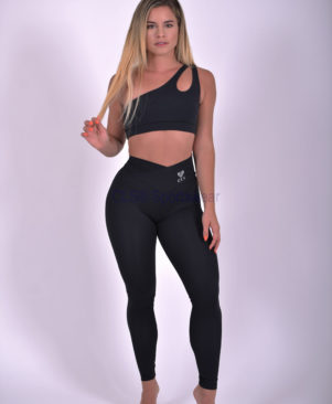 NC Fit Textured Leggings Preto