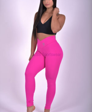 Shape Leggings Pink Glo (Custom-Made)