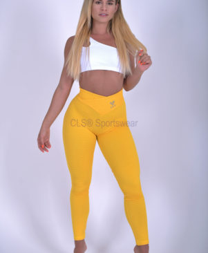NC Trance Textured Leggings Girassol