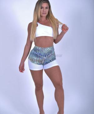 Shape Wild Lizard Mesh Shorts (Custom-Made)