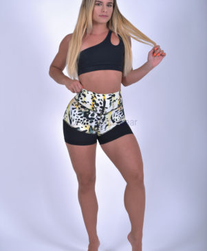 NC Shape Wild Cheetah Mesh Shorts