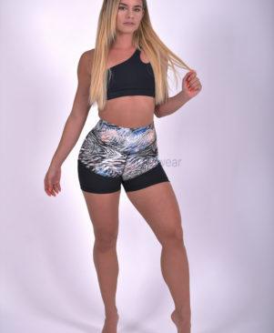 NC Shape Wild Mystic Zebra Mesh Shorts