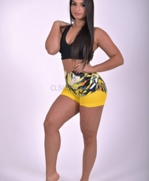 Shape Wild Tiger Mesh Shorts