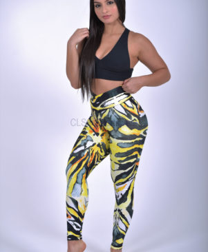 Shape Wild Tiger Leggings