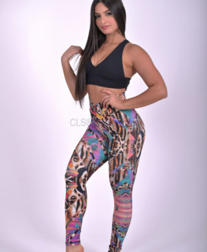 NC Shape Wild African Leggings