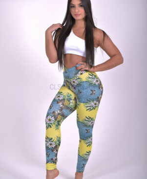 NC Shape Wild Butterfly Leggings & Biker Shorts