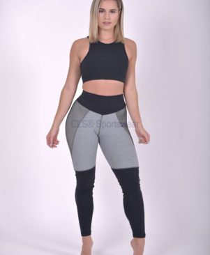 NC Fuse Light Bicolor Grafite Leggings