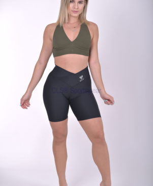 NC Sensory Textured Biker Shorts Preto