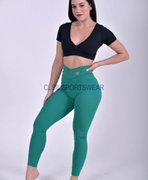 NC Shape Seamless Front Leggings Tropicale