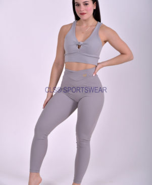NC Shape Seamless Front Leggings Aco