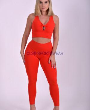 NC Yoga Leggings Shape Vermelho