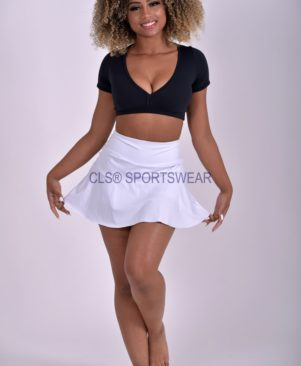 NC Compression Light Skort Branco