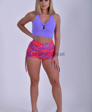 NC Viva Light Diamond Side Tie Shorts