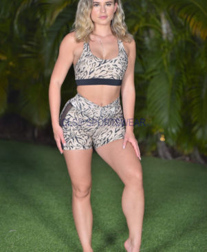 NC Shape Lynx Side Tule Shorts