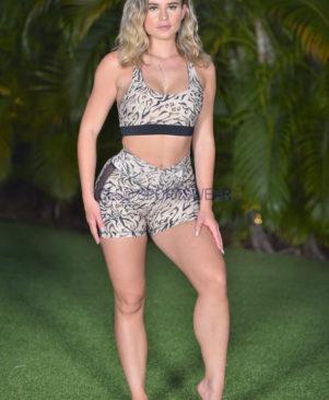 Shape Lynx Side Tule Shorts (Custom-Made)