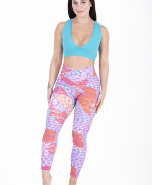 NC Shape Geometric Leggings And Biker Shorts