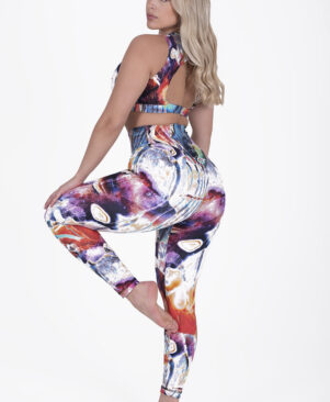 NC Contour Max Leggings Colorful Marble