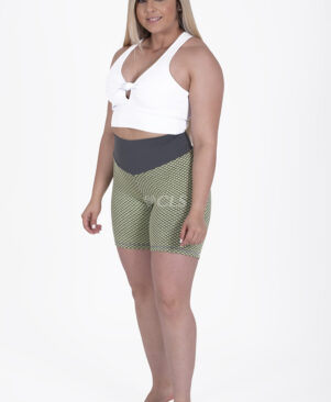 NC Geo Textured Caipirinha Biker Shorts