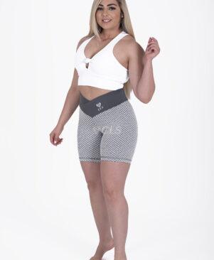NC Geo Cru Textured Biker Shorts