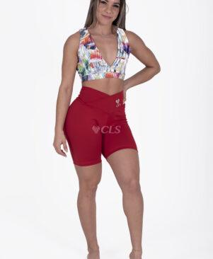NC Confort Scarlet V Waist Biker Shorts
