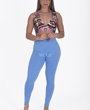 NC Confort Blue Ice High Waist Leggings