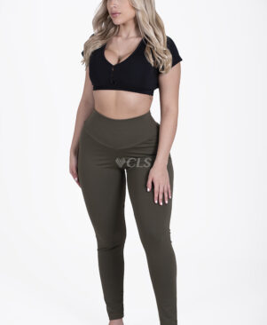 NC Confort Camuflagem High Waist Leggings