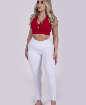 NC Confort Branco High Waist Leggings
